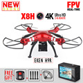 NEW SYMA X8HG FPV RC Drone With 4K 1080P Action Camera WIFI Altitude Hold 6-Axis RTF Dron RC Quadcopter Helicopter VS JJRC H31