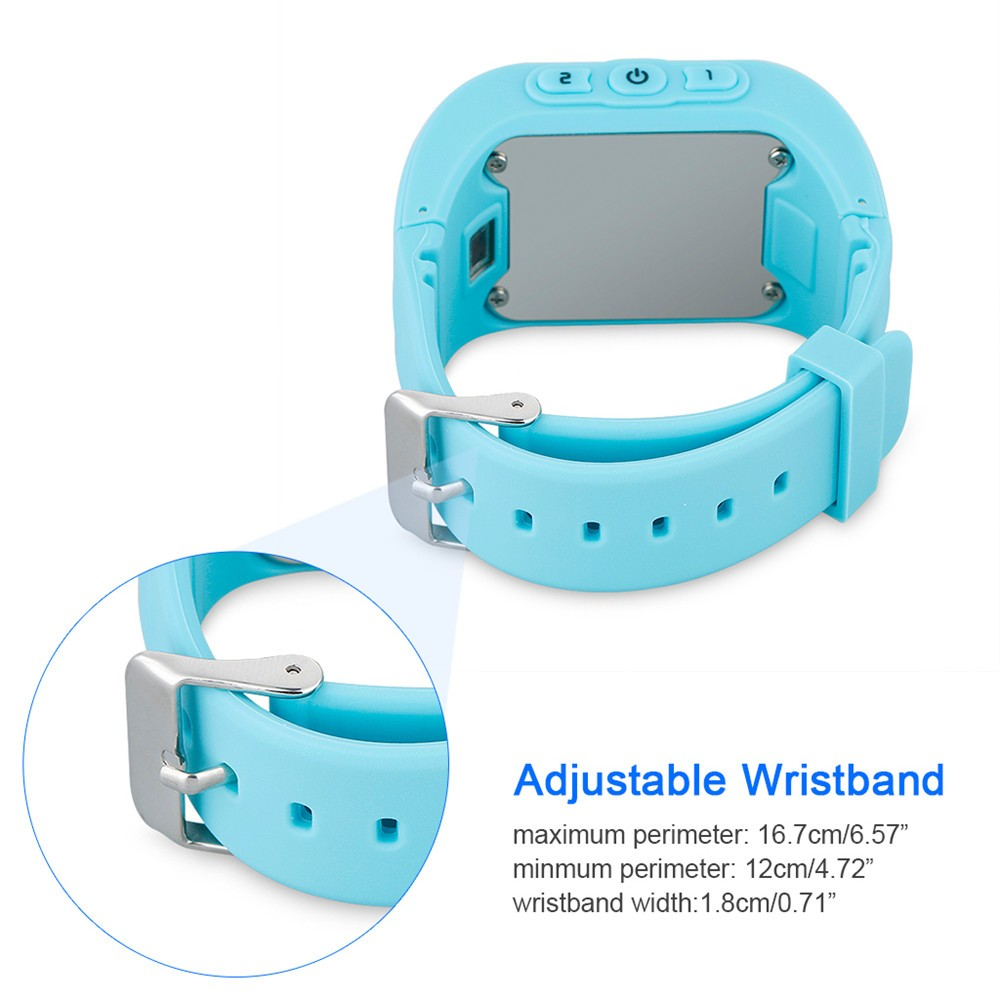 2016 Smart Kid Safe GPS Watch Wristwatch SOS Call Location Finder Locator Tracker for Kid Child Anti Lost Monitor Baby Gift Q5014