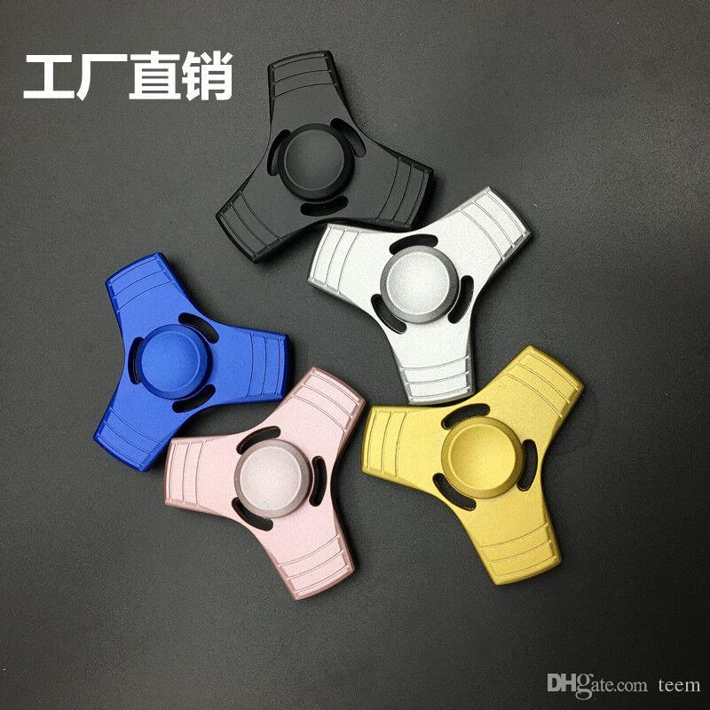 DHL New Arrival Fidget Spinner HandSpinner Hand Spinner Finger EDC Toy For Decompression Anxiety Metal Ceramic