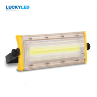 LUCKYLED LED Floodlight 50W Waterproof IP65 Flood Light AC220V Spotlight Outdoor Lighting For Gargen Wall Lamp
