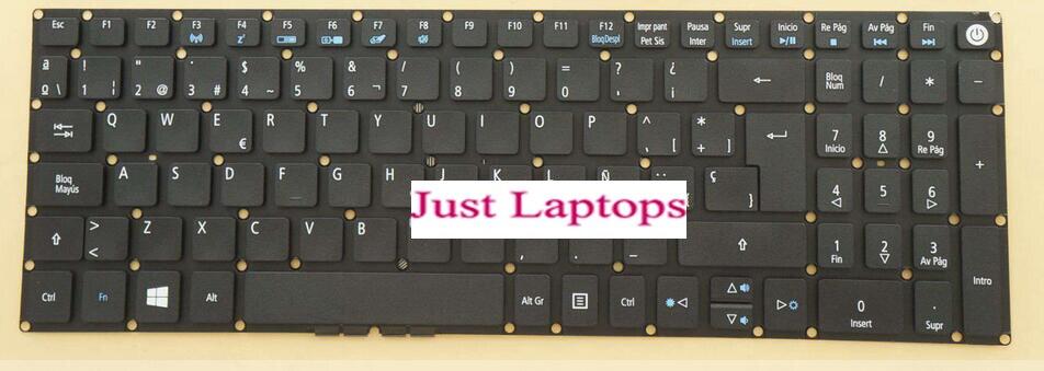 For Acer Aspire E5-573TG E5-722 E5-772 E5-772G Azerty Belgium Keyboard Backlit
