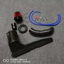 Комплекты впускных труб из углеродного волокна для volkswagen mk7 ea888 gen3 двигатель gti s2 r20