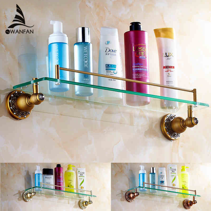 Aliexpress Com Buy 1 Set Retro Style Bathroom Shelfs