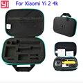 Para el caso de xiaomi yi 2 4 k accesorios de la cámara del bolso del caso de almacenamiento de calidad original para xiaomi yi 2 4 k cámara de acción