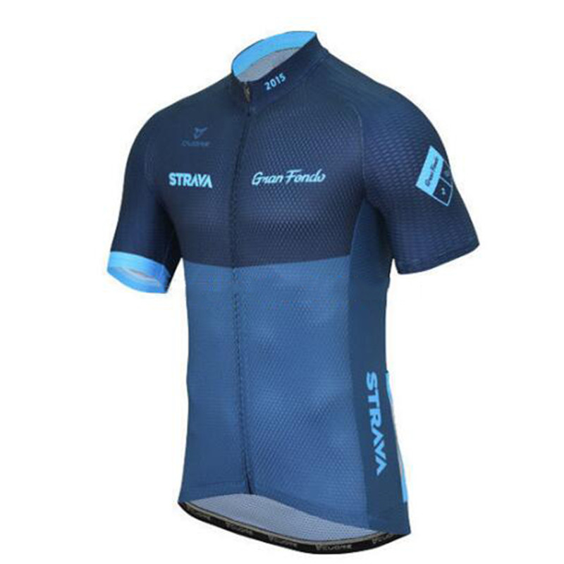 Pro Team 2019 <font><b>Strava</b></font> Summer Cycling Jersey Short Sleeve Men's Cycling <font><b>Shirts</b></font> Quick Dry <font><b>Bike</b></font> Jersey Cycling Clothing MTB tops image