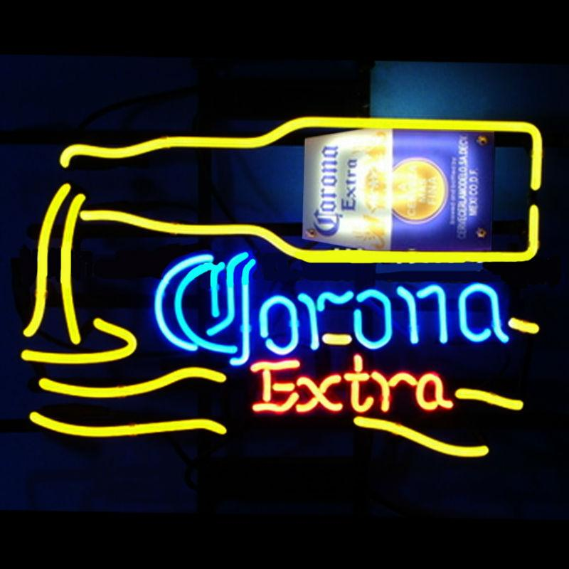 Corona Extra Neon Light Sign Beer BarCorona Extra Neon Light Sign Beer Bar