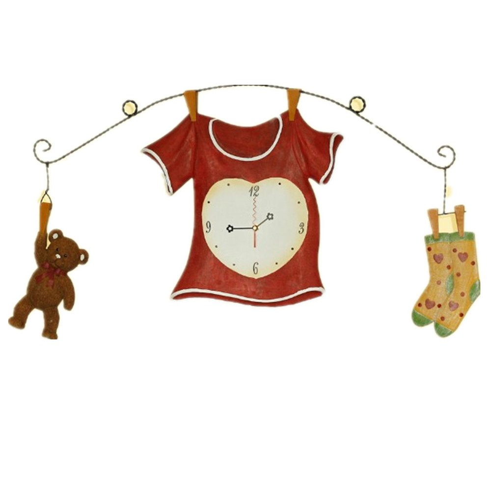 Novelty Fashion Home Decoration Clothes Hanging Wall Clock