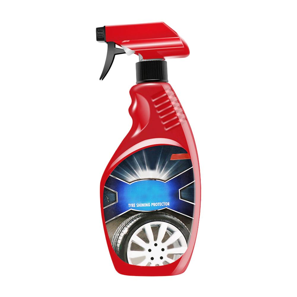 Professional 360ml Tire Coating Agent High Brightness Tire Protector Wheel Cleaning Glazing Crack Car Repair Tool