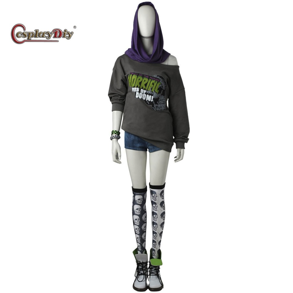 CosplayDiy Watch Dogs 2 Sitara Cosplay Costume Suit Halloween Carnival Dedsec Clothes Adult Women Girls Full Set Custom Made