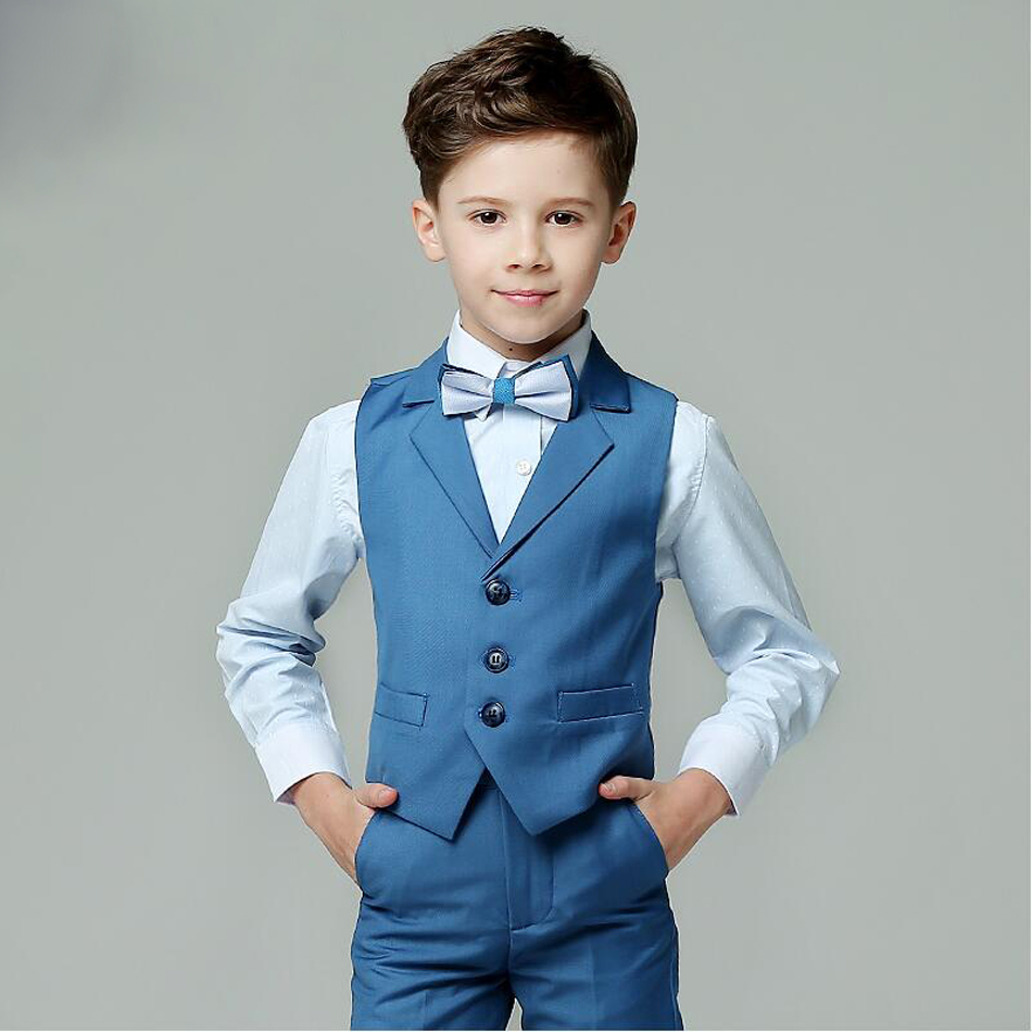 Boys Formal Suit For Wedding Kids Slim Fit Blazers for Summer ...