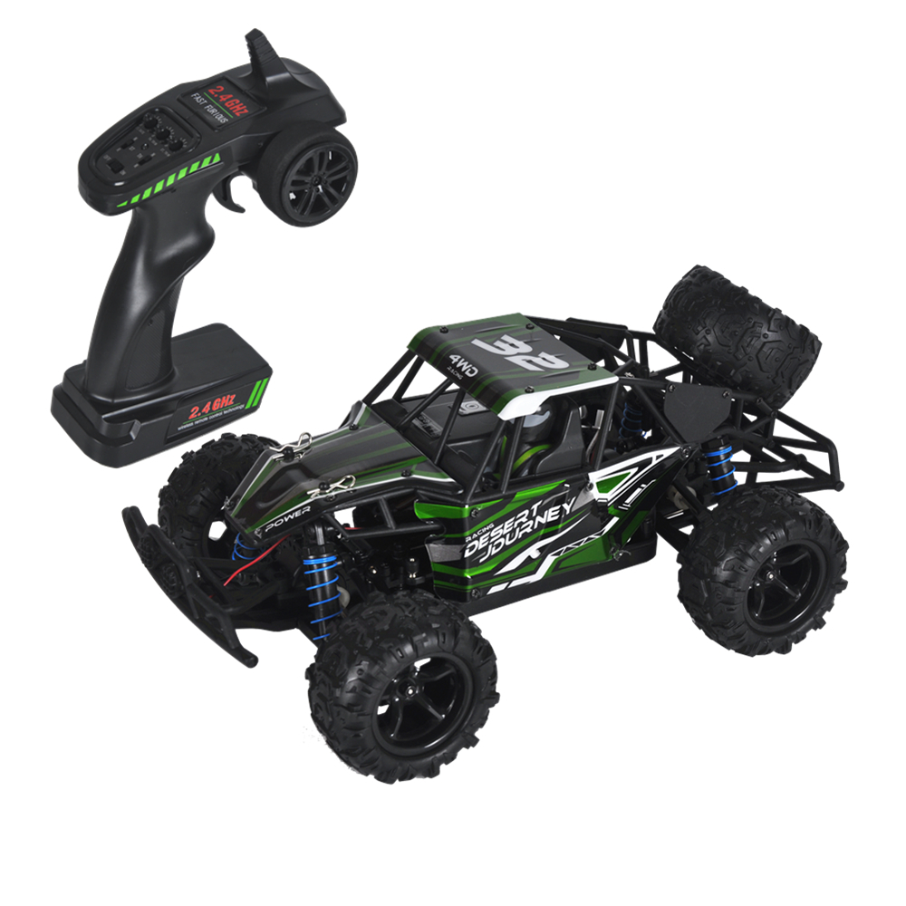 1:18 50km/h Remote-Controlled RC Car 4WD Radio-Controlled Cars Truck Buggy High speed Machine on the Remote Control Car Off-Road microgear radio controlled rc grasshopper flying in the air