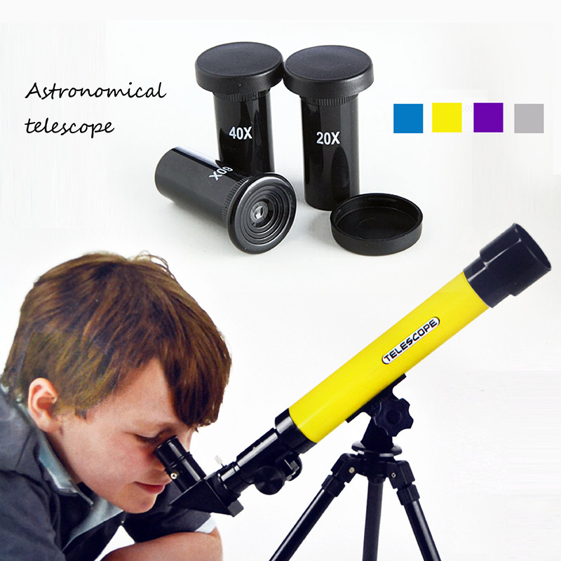QICSYXJ Creative Toy Gift Childrens Science Education Astronomical Telescope High Magnification Single Tube Exports