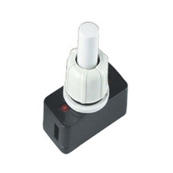 PBS-17A-2 10mm Mini Push On Push Off Pressure Switch For Lamps 250V~2A 50pcs/lot