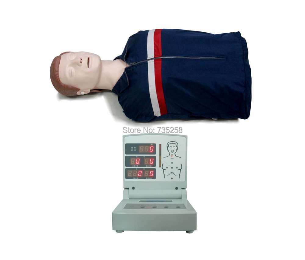 Bust CPR Training Model,CPR Model,Computer Control CPR Practice Model