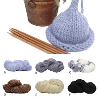 Winter Super Thick Chunky Cotton Knitting Roving DIY Scarf Hat Yarn For Hand Knitted Yarn Knit