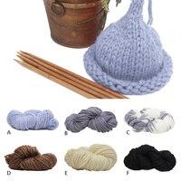 Winter Super Thick Chunky Cotton Knitting Yarn Roving DIY Scarf Hat Yarn