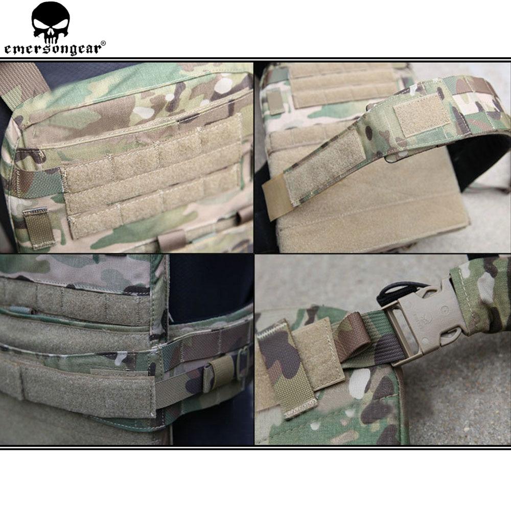 Image 5 - EMERSONGEAR CP AVS адаптивный жилет, тяжелая версия, военный жилет для венгинга, защитный тактический жилет AVS для США, Мультикам EM7397Охотничьи жилеты    АлиЭкспресс