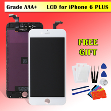 Aliexpress 1PCS AAA Quality LCD for iPhone 6 Plus 6P Display and Touch Screen Digitizer Lens Assembly Replacement 100% Brand New