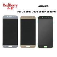 AMOLED LCDs For SAMSUNG GALAXY J5 2017 J530 J530F J530FN SM J530F Display Touch Screen Digitizer