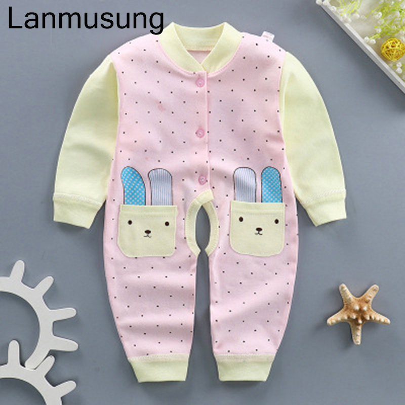 Baby Clothes New Romper Boys Baby Clothing Long Sleeve Girl Clothes Cotton Comfortable Baby Romper Product Mild And Mellow