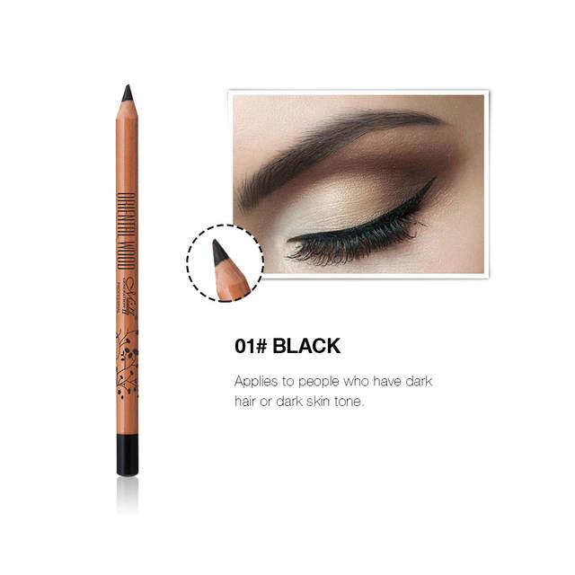 MENOW Merino P14009 hardwood eyebrow pencil waterproof durable SUMI two  colors