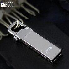 Free Shipping   Tot Sale Waterproof 64GB 32GB 16GB 8GB 4GB  Usb Flash Drive Mini Pen Drive Metal Usb  High Speed Memory Disk Usb