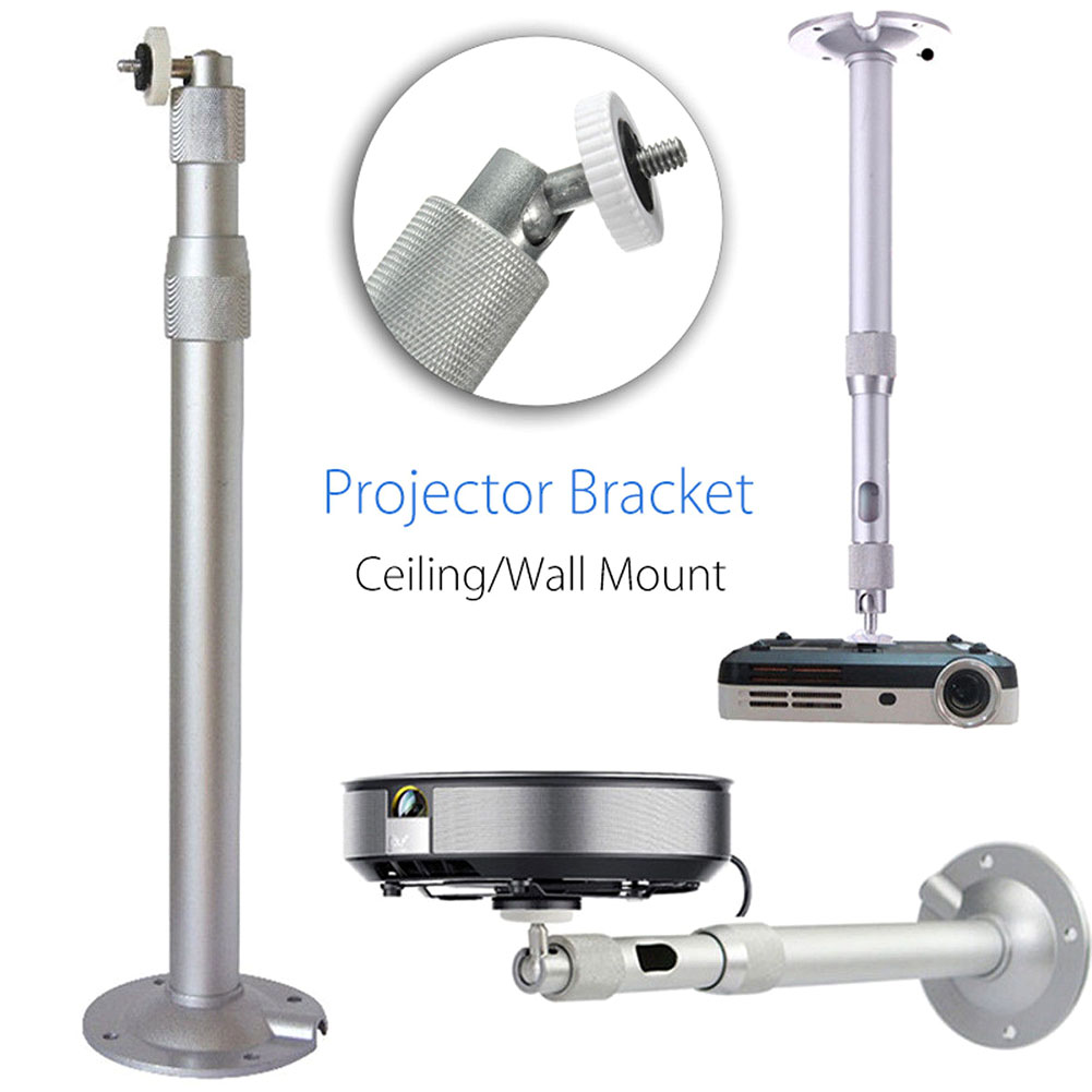New Hot Universal 20-40cm Projector Ceiling Wall Mount Aluminium Bracket 15KG Capacity