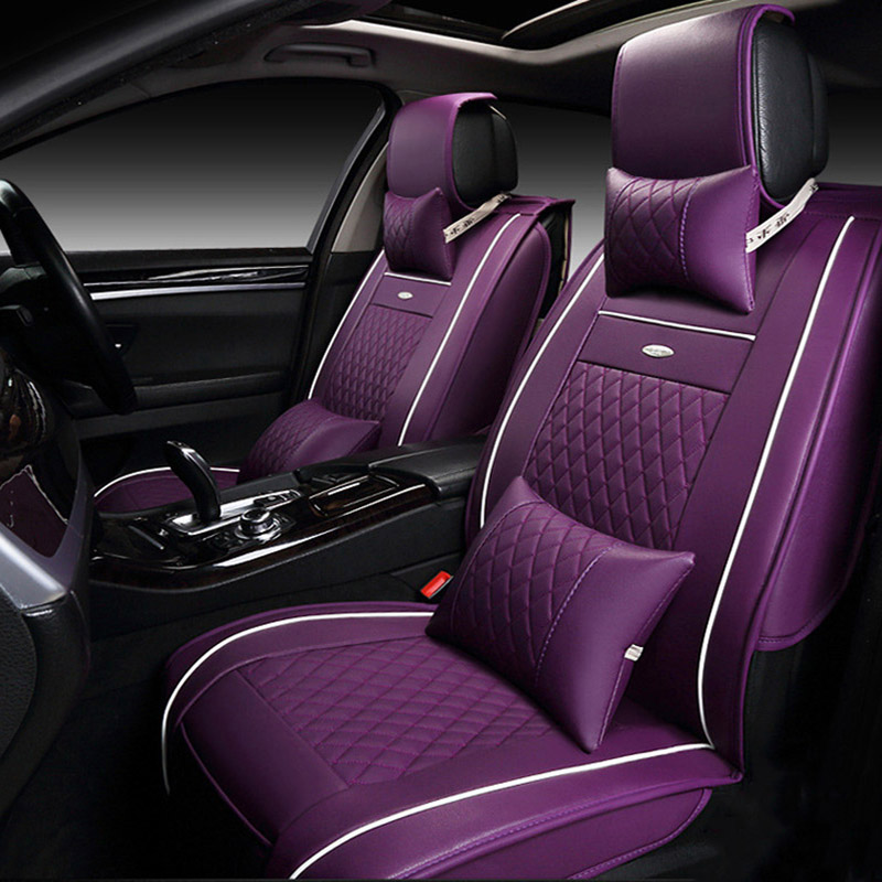 Universal Pu Leather Car Seat Covers For Mg Gt Mg5 Mg6 Mg7 Mg3 Mgtf Car Accessories Car Styling Auto Covers 3d Black White Red