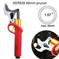 Koham Professionelle 40mm 40V Elektrische Obst Rebschnitt Scher/Elektrische Bypass Pruner-in Elektrische Scheren aus Werkzeug bei