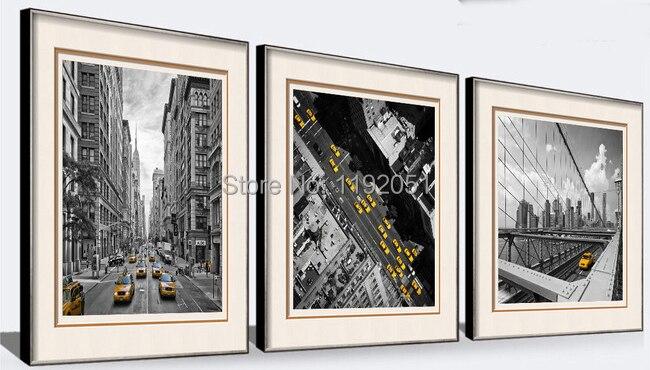 new york papier peint noir et blanc-achetez des lots à petit prix