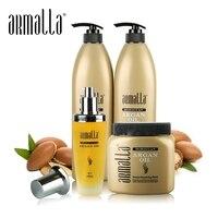 Armalla 1000 мл марокканского Аргана масло, шампунь для сухих волос + 1000 мл глубоко Кондиционер для волос + 500 мл маска для волос + 100 мл аргановое ма