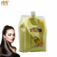 Free Shipping BOQIAN Old Ginger King Hair Care Hair&Scalp Massage Cream Moisturizing Nourish Repair Damaged Hair Care Product 1L