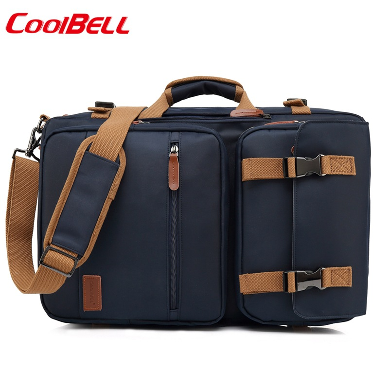 Coolbell New casual 17 3 inch Laptop bag Business package computer Bag Backpack Single shoulder bag