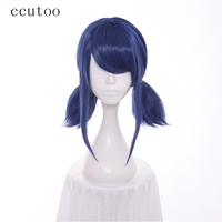 Ccutoo 80cm Wavy Long Purple Red Mix High Temperature Fiber Synthetic Costume Wigs Peluca For Female