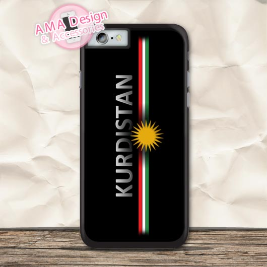 The Spirit Of Kurdistan Protective Case For iPhone X 8 7 6 6s Plus 5 5s SE 5c 4 4s For iPod Touch