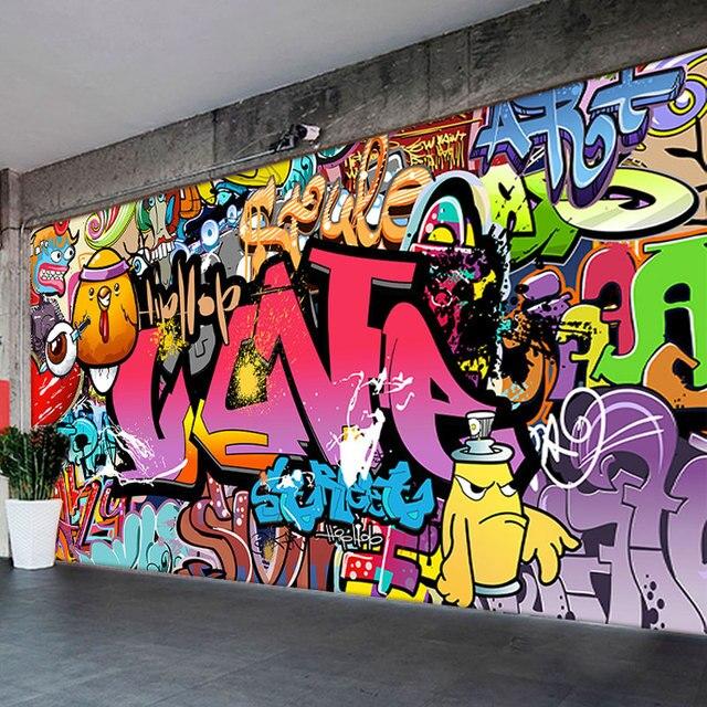 Graffiti Art Wallpapers Group 71: Custom Photo Wallpaper 3D European Style Personalized Hand