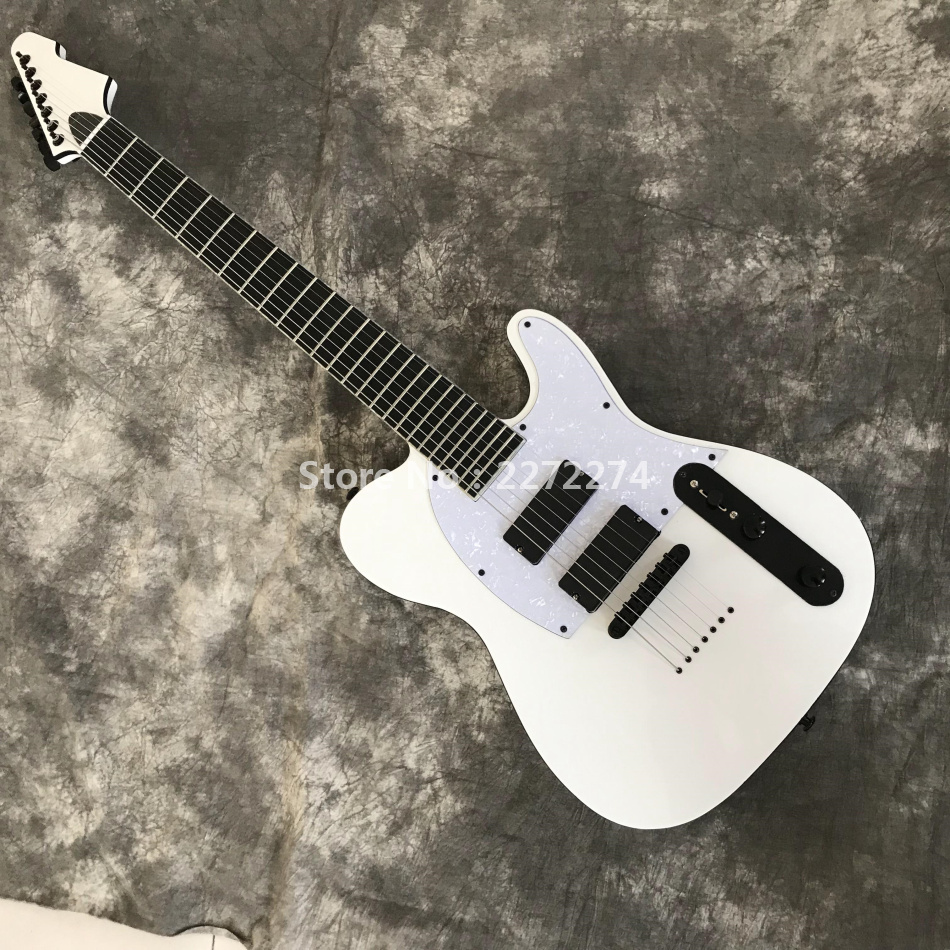 Electric Guitar String Noise : the new 7 string white electric guitar good sound quality free shipping in guitar from sports ~ Vivirlamusica.com Haus und Dekorationen