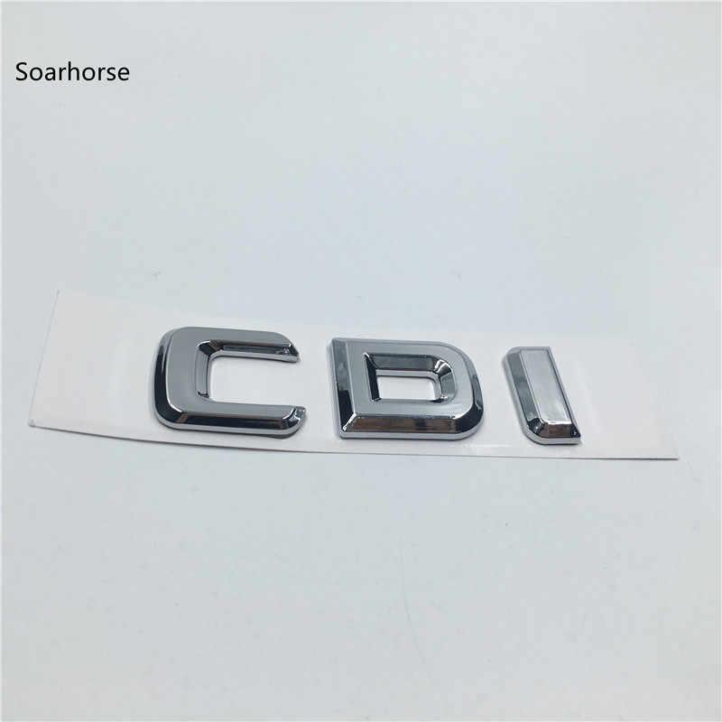 Soarhorse nouveau style pour Mercedes Benz CDI AMG 4 Matic voiture arrière coffre lettres Badge emblème autocollants