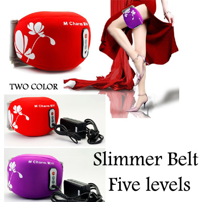 Electric Massage Belt Arm Thigh Calf Vibrating Slimming Belt Lose Weight Fitness