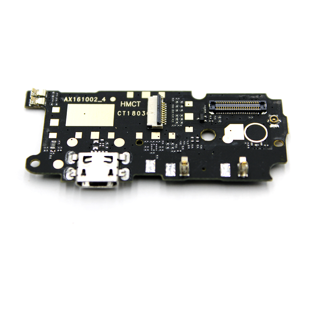 1pcs New For Xiaomi Redmi Note 4 Microphone USB Charging Port Board Flex Cable Connector Parts