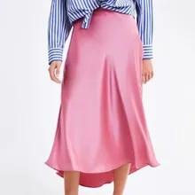 7cf2d7459 Compra pink ruffle skirt y disfruta del envío gratuito en AliExpress.com