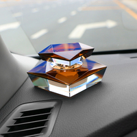Car Ornament Luxury Artificial Crystal Perfume Seat Automotive Decoration Air Freshener Auto Fragrance Scent Flavoring Diffuser