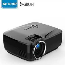 Wifi Android 4.4 Proyector Bluetooth WIFI Android 4.4.4 GP70UP (8G + 1G) proyector