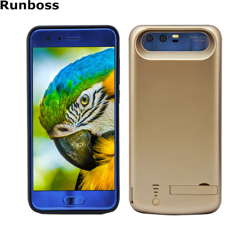 Runboss for Huawei Honor 9 Power Case 6500mAh Rechargeable Battery Charge Case for Honor 9