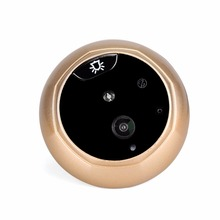 3.0 Inches TFT LED Doorbell Door Peephole Viewer Camera Night Vision Door PEEPHOLE Professional Security Camera F1773J