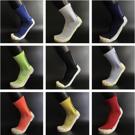 YWYD High Quality Brand New Anti Slip Soccer Socks Cotton Stoking Football Men Sport Outdoor Socks