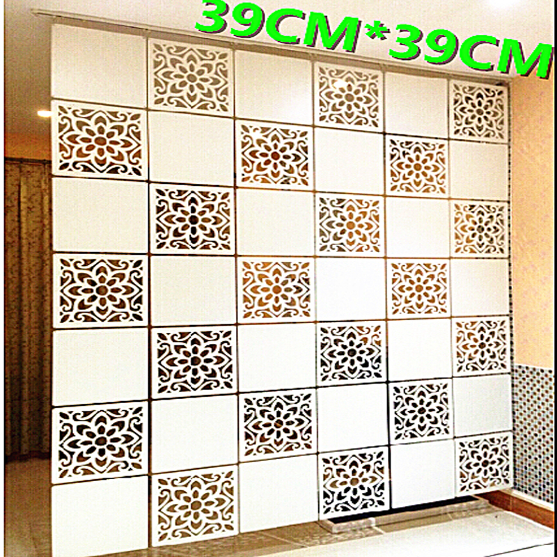 Fashion Hanging Screen partition bedroom wall post entry living room Home decoration free shipping