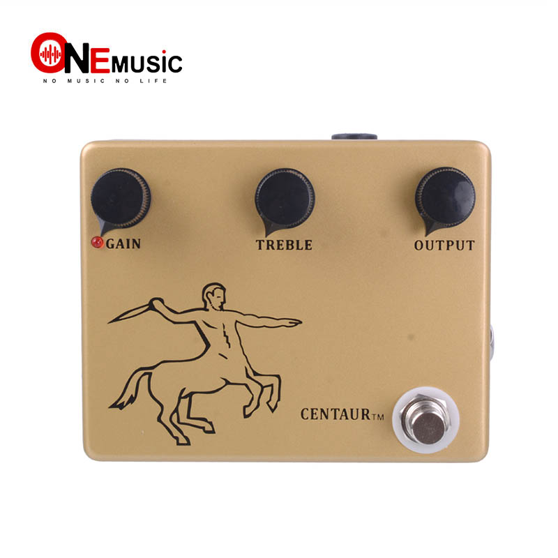Klon Centaur GOLD Professional Overdrive Guitar Effects Pedal True bypass Clone with Gold Pedal Connector