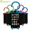 Гибкий Держатель Телефона для iPhone 6 6 plus 7/для Samsung/для Huawei/для HTC android Телефон Сотовый Телефон Кремния телефон Автомобиля держатель