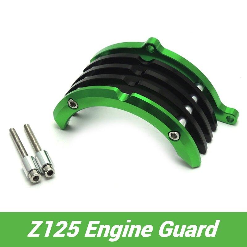 Для Kawasaki Z125 правой стороны двигателя гвардии Protector для Z125 Кавасаки Pro мотоцикл части